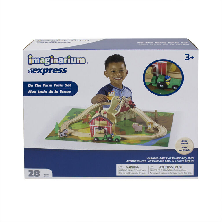 Imaginarium Express - On the Farm Train Set