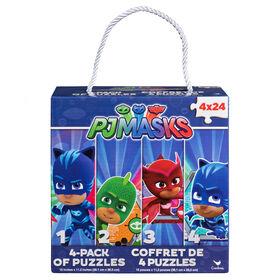 PJ Masks 4-Pack of Puzzles
