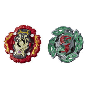 Beyblade Burst Rise Hypersphere Dual Pack Viper Hydrax H5 and Dullahan D5