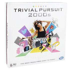 Hasbro Gaming - Jeu Trivial Pursuit 2000 - Édition anglaise.
