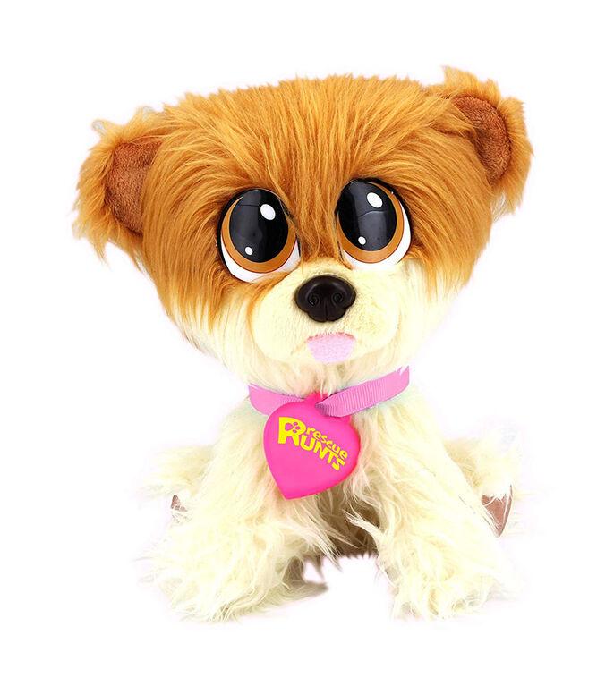Rescue Runts Series 2 Adoptable Plush Pomeranian