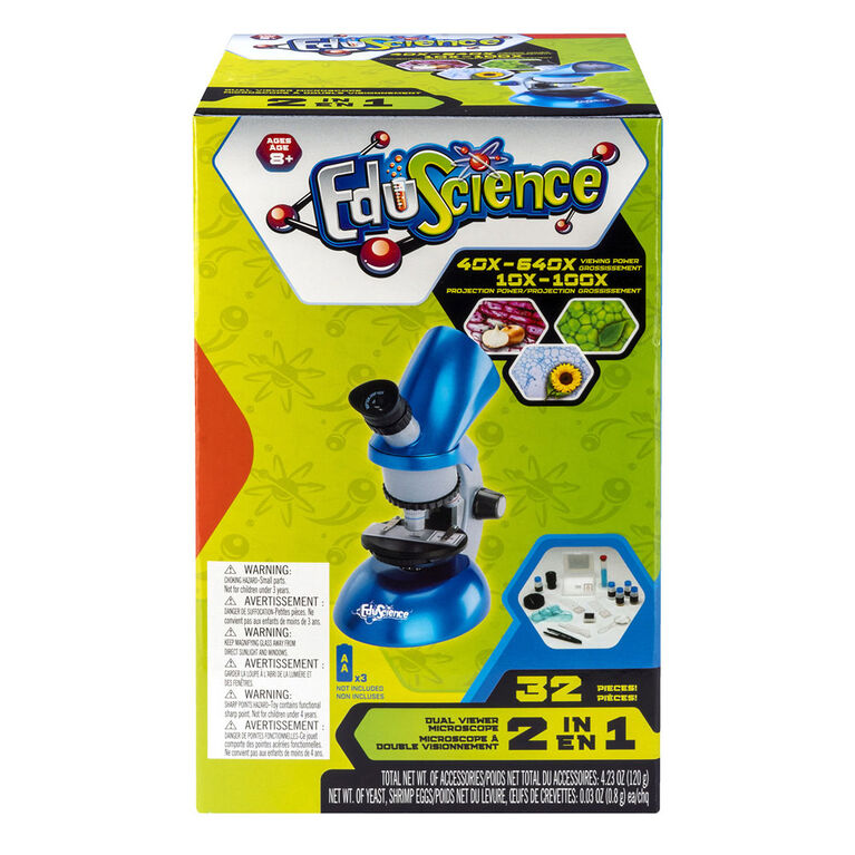 640x Dual Viewer Microscope