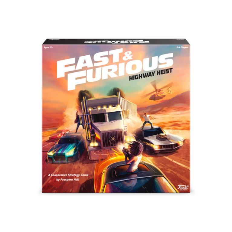 """Fast & Furious: """"Highway Heist"""" Jeu De Plateau - Édition anglaise"""