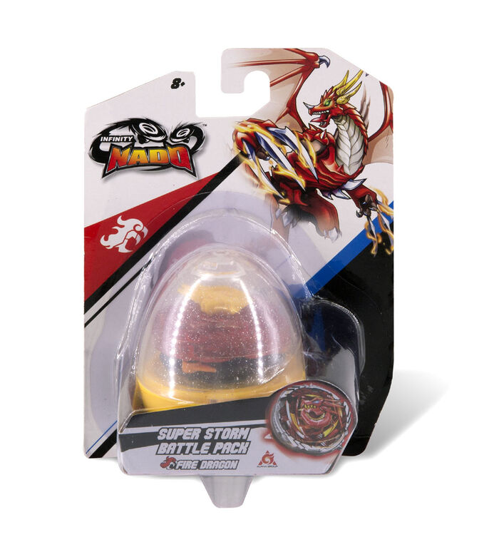 Infinity Nado V - Super Storm Battle Pack -  Nado Egg series - Fire Dragon - R Exclusive