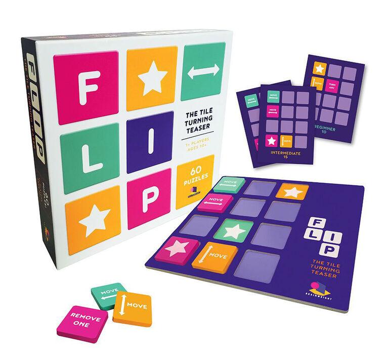 Brainwright - Flip Puzzle Game