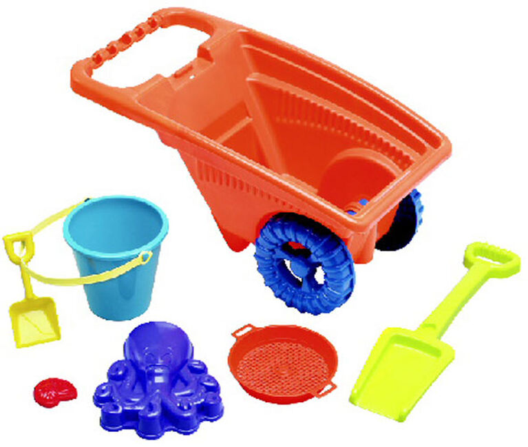 7 piece Beach Cart Set