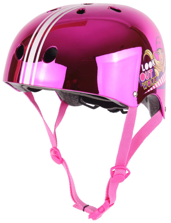 Barbie Chrome Helmet