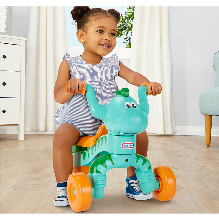 Go & Grow Dino by Little Tikes Dinosaur Ride-On Trike for Kids