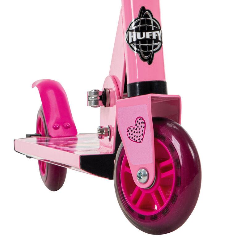 Huffy Disney Minnie Mouse - Folding Kick Scooter - 2-Wheel