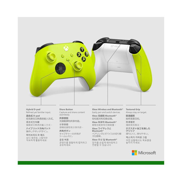 Xbox Series SX Wireless Controller Electric Volt