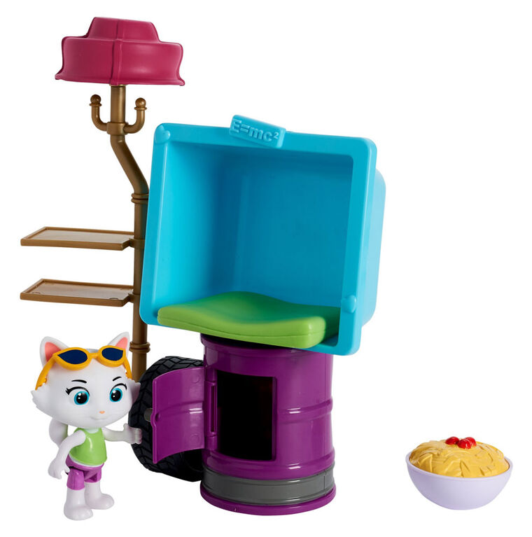 44 Cats Playset with 3'' Figure Milady