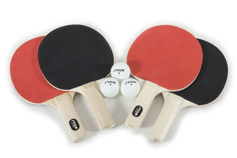 Stiga 4 Player Performance Table Tennis Set