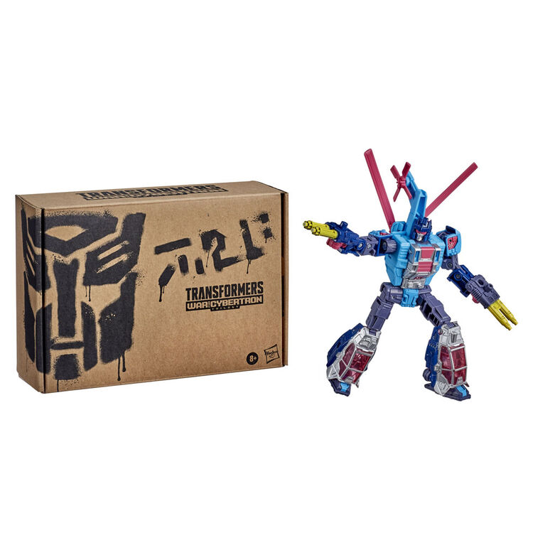 Transformers Generations Selects WFC-GS19 Rotorstorm, War for Cybertron Deluxe Class Figure - R Exclusive