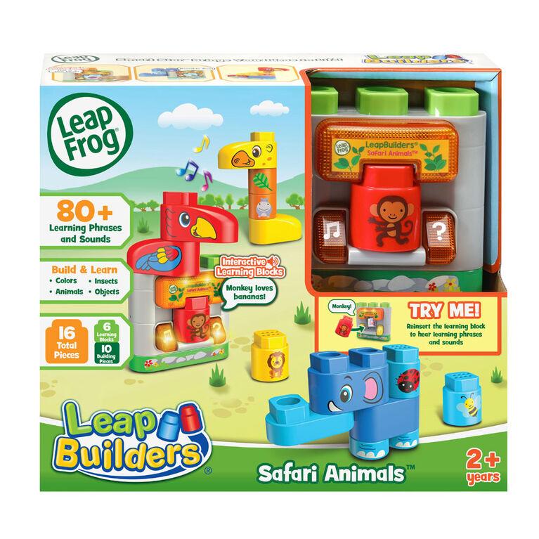 LeapFrog LeapBuilders Safari Animals - English Edition