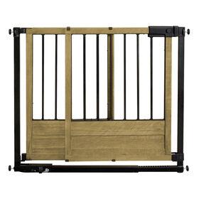Summer Infant Rustic Home Sliding Barn Door Style Safety Gate