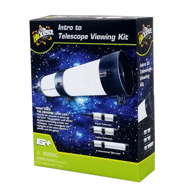 Edu Science 3-in-1 Telescope Builder