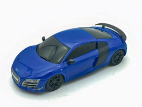 1:24 Remote Control Car – Black Audi R8 GT.