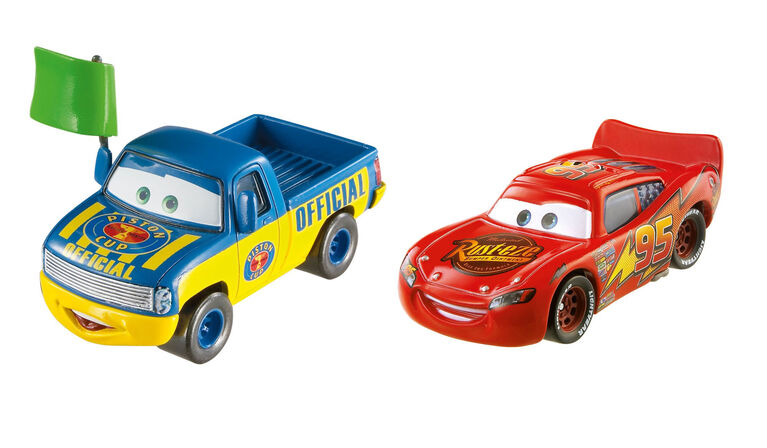 Disney/Pixar Cars Lightning McQueen and Dexter Hoover 2-Pack