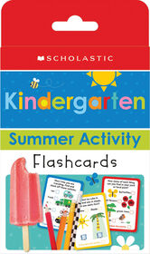 Scholastic - Scholastic Early Learners: Kindergarten Summer Activity Flashcards - English Edition