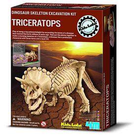4M Kit de Fouille: Triceratops - Édition anglaise
