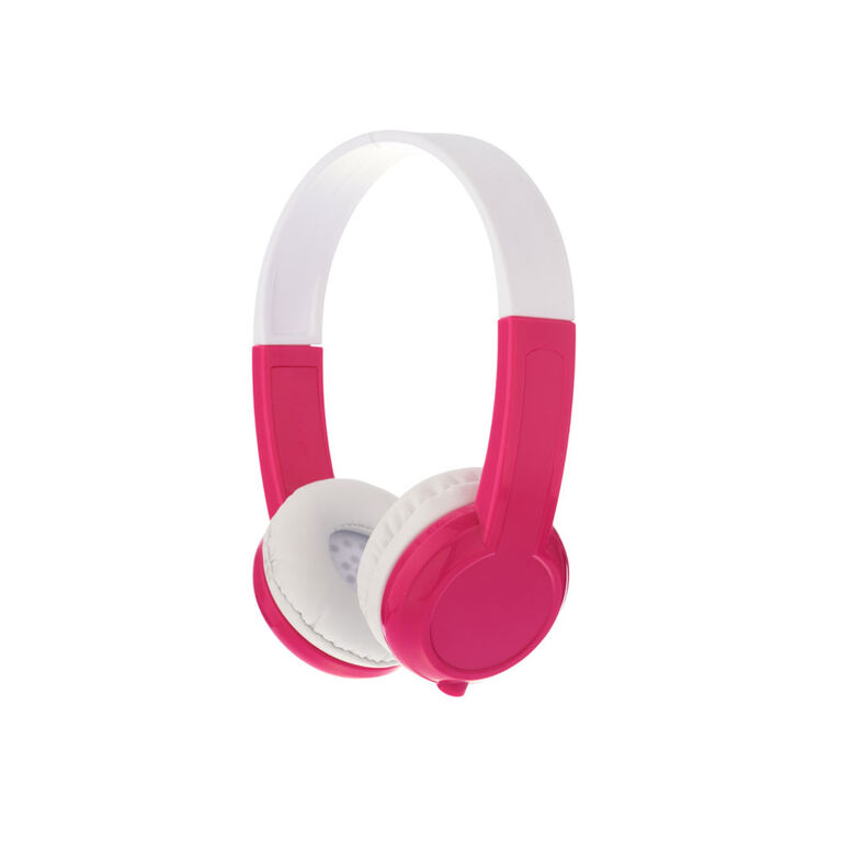 BuddyPhones Explore w/ Mic, Pink