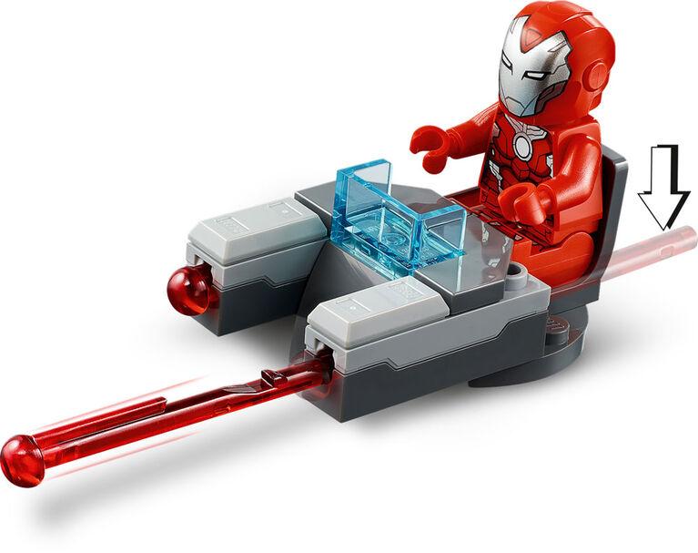 LEGO Super Heroes Iron Man Hulkbuster contre un agent de l 76164