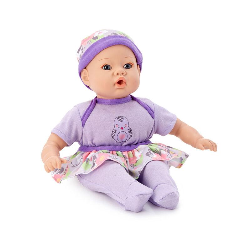 Madame Alexander - 12Inch Lil' Cuddles Baby - Lavender