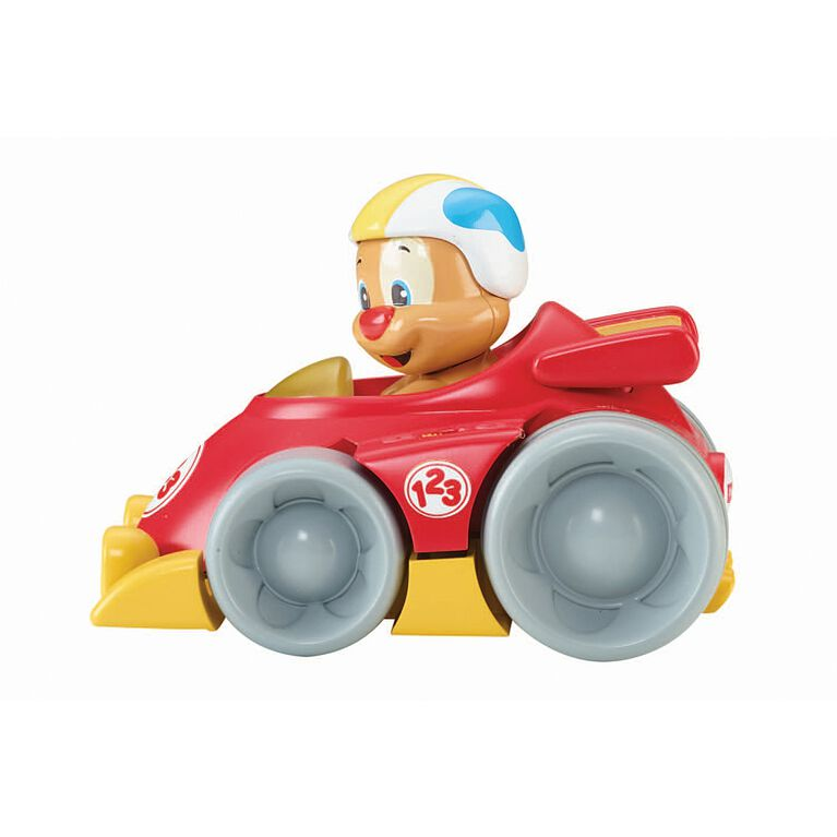 Fisher Price - Laugh and Learn Puppy's Press 'n Go Car - English Edition