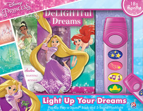 Little Flashlight Adventure Book - Disney Princess - English Edition