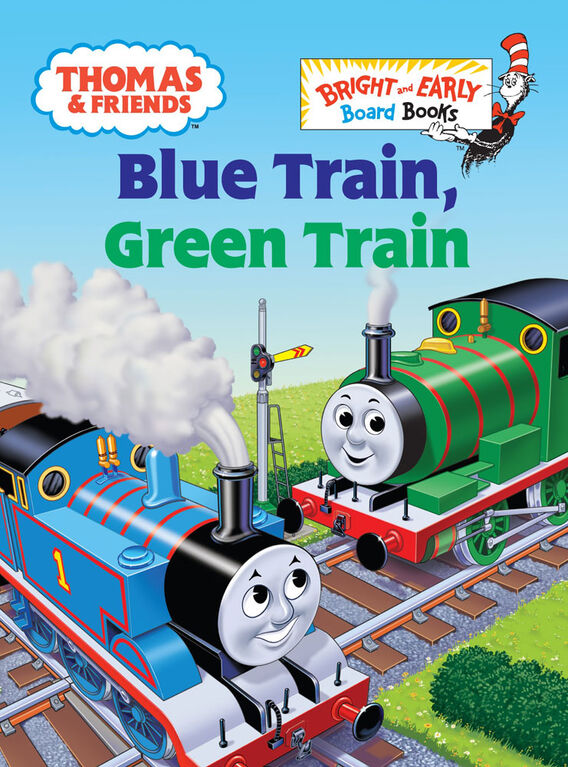Thomas & Friends: Blue Train, Green Train (Thomas & Friends) - English Edition