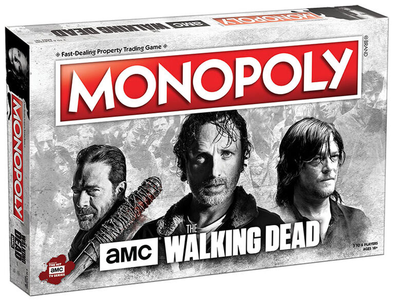 Jeu Monopoly: AMC The Walking Dead