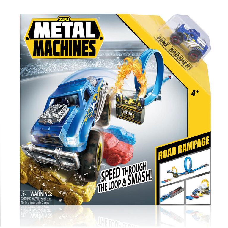 Metal Machines - Road Rampage Track Set