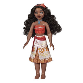 Disney Princess Moana of Oceania Fashion Doll with Skirt