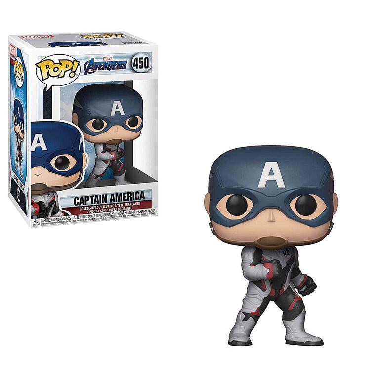 Funko POP! Marvel: Avengers Endgame - Captain America Vinyl Figure