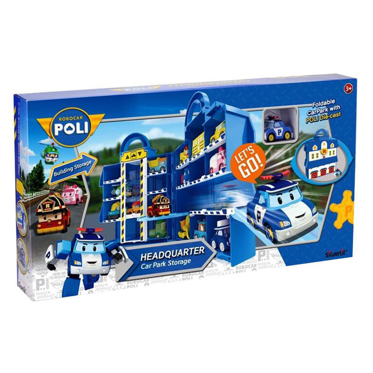 Robocar Poli Headquarter Car Park Storage