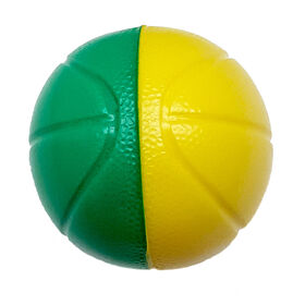 Mini-balles de mousse basketball - Les couleurs peuvent varier