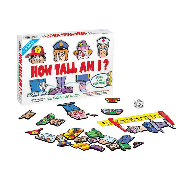 Goliath Games: Jeu De How Tall Am I