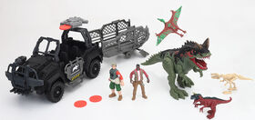 Animal Planet - Dinosaur Vehicle Playset - R Exclusive