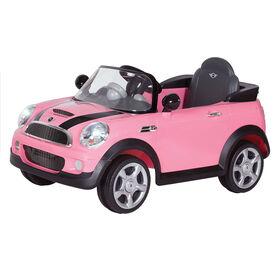 Rollplay 6V MINI Cooper - Pink