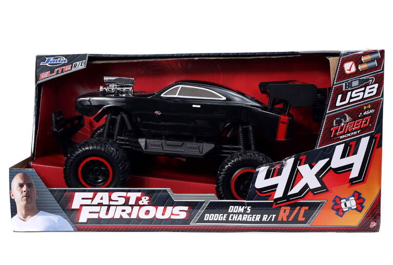 Fast & Furious 1:12 Elite 4x4 RC 1970 Dodge Charger