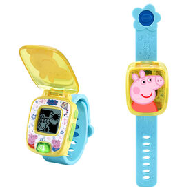 VTech Peppa Pig Learning Watch - Blue - Édition anglaise
