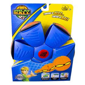 Goliath - Phlat Ball V3 - Blue with Orange Bumper