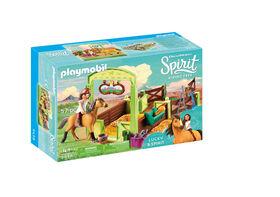 Playmobil - Spirit Horse Box Lucky & Spirit