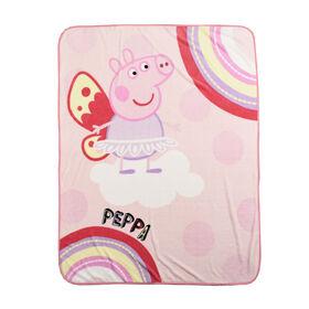 Peppa Pig Plush Throw
