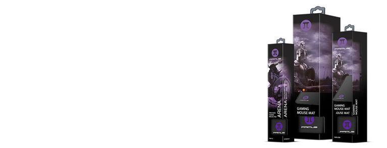 Arène de Tapis de Souris Primus - Moyen Noir 12.6Po x 10.6Po - Édition anglaise