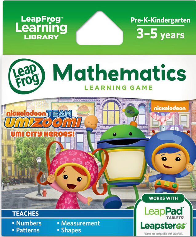 LeapFrog Team Umizoomi Learning Game - Version anglaise