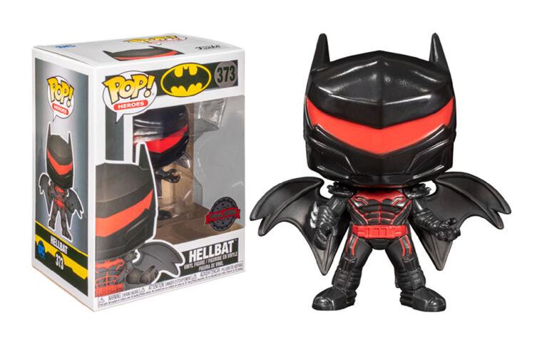Figurine en Vinyle Hellbat par Funko POP! Batman - Notre Exclusivité