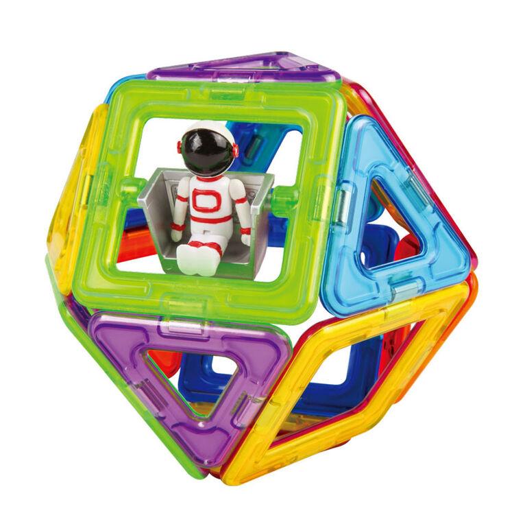 Magformers - Ensemble de l'espace WOW de 22 pièces