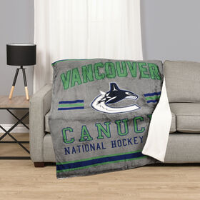 NHL Team Throw - Vancouver Canucks