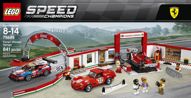 LEGO Speed Champions Ferrari Ultimate Garage 75889